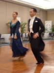 Brian Antonio dancing in Miami, FL w/ student